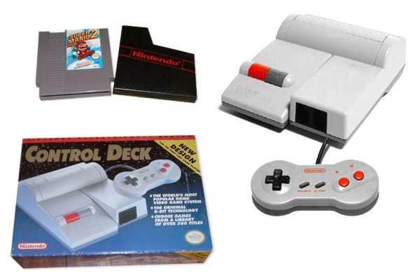 Nintendo Entertainment System - top loader