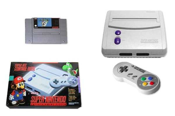 Super Nintendo Entertainment System : Good deal games classic videogame article home