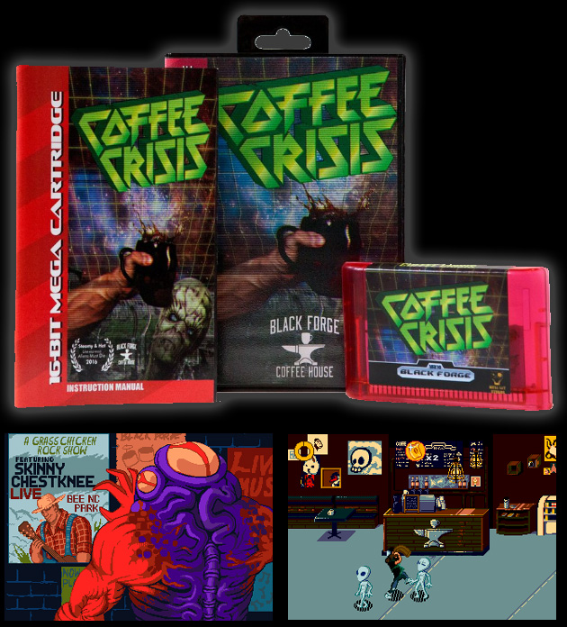 coffee crisis Well, these aliens know exactly how to hit us where it hurts grab a friend and  play as two baristas saving the world from the evil smurglians.